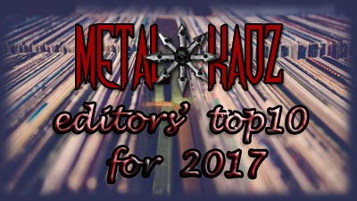 Metal Kaoz Top 10 Albums for 2017