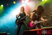 Girlschool @ O2 Academy, Sheffield (UK) (photos by Erika Wallberg)